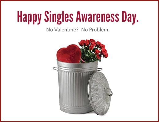 La journée des célibataires, c'est le 15 février aux Etats-Unis !