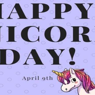 Comme chaque jour aux Etats-Unis, de nombreuses célébrations nationales ont lieu. Le 9 avril, il y en a plusieurs dont la journée des licornes.