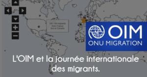 La journée internationale des migrants et l'OIM.