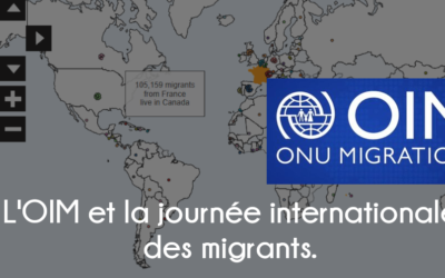 La journée internationale des migrants et l'OIM.