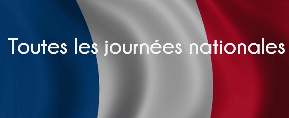 Image de l'agenda des journées nationales françaises