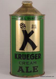 Image de la première canette de bière